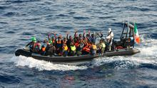 LÉ Samuel Beckett Rescues 220* Migrants During Two Search and Rescue Operations 04 October 2016