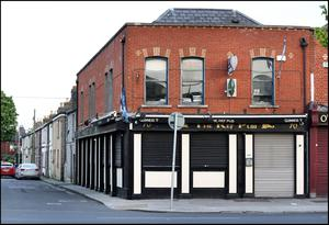 The Ref Pub in Ballybough. Photo by Steve Humphreys 24th April 2020