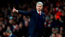 Arsene Wenger hailed his side's spirit after their victory over Manchester City