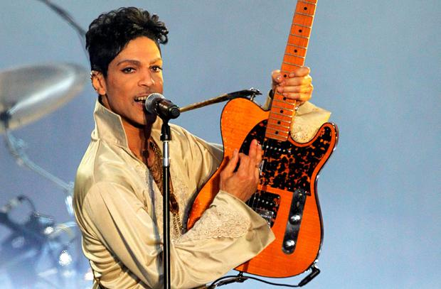 Prince in concert in the UK in 2007. Photo: Reuters