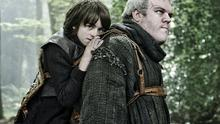 Hodor and Bran in Game of Thrones