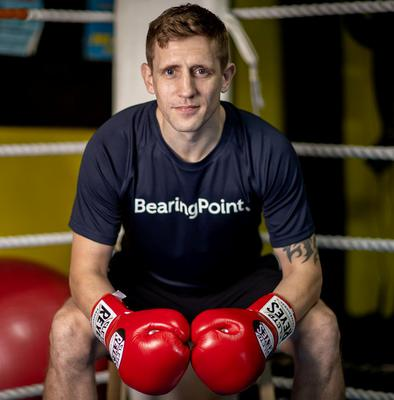 Irish pro boxer Eric Donovan has something to focus on this year with a European belt in his sights. Photo: INPHO