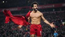 Ready to resume: Mo Salah and his Liverpool team-mates will be relieved that the current Premier League season will conclude. Photo: Michael Regan/Getty Images