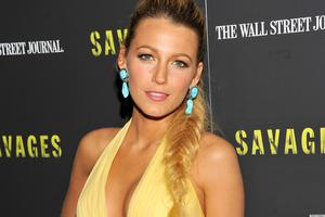 """Actress Blake Lively attends the """"Savages"""" New York premiere at SVA Theater"""