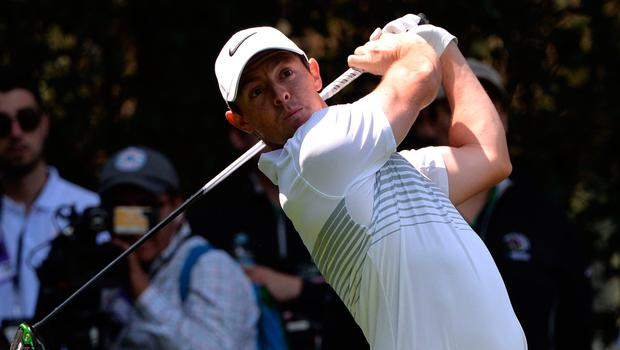 Rory McIlroy plays his shot from the 12th tee during the first round of the WGC Mexico Championship at Club de Golf Chapultepec. Photo credit: Orlando Ramirez-USA TODAY Sports