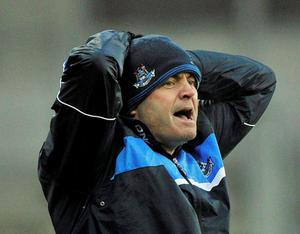 Dublin manager Anthony Daly during the Allianz Hurling League, Division 1A, Dublin v Limerick, Croke Park, Dublin. Picture: Pat Murphy/Sportsfile.
