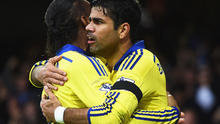 Didier Drogba and Diego Costa