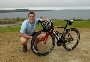 Kevin Cassidy is an ambassador for a charity cycle of the entire Wild Atlantic Way