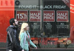 Retailers may have reported increased sales, but figures show they were forced to drop their prices through promotions such as Black Friday in order to draw customers in.
