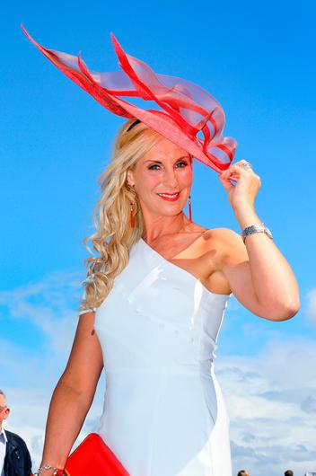 Michelle Murphy at the opening evening of the Galway Races. Picture: Frank McGrath