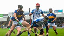 Jamie Barron of Waterford in action against Dillon Quirke of Tipperary