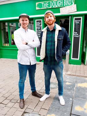 Ronan and Eugene Greaney - The Dough Bros Galway. Photo: Andrew Downes XPOSURE