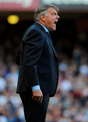 West Ham United manager Sam Allardyce was not in a sentimental mood after his side's defeat to Everton