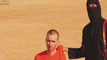 David haines who is shown at the end of the video