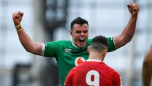 Ireland rediscovered their 'bite' against Wales, writes Roy Curtis. Photo by Ramsey Cardy/Sportsfile