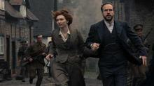The War of the Worlds - Eleanor Tomlinson as Amy and Rafe Spall as George   - (C) Mammoth Screen - Photographer: Matt Squire