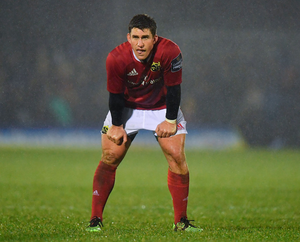 Keatley has been targeted by Munster head coach Rassie Erasmus as one of a number of players who may have to move on this summer. Photo by Brendan Moran/Sportsfile
