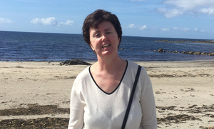 Diagnosed two years ago: Triona Hanly (55) was unaware she could be at risk of Huntington's disease, an inherited illness, as she was adopted as a child