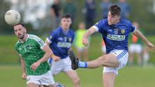 Daire McConnon of St Mary's picks out a pass. Picture: Ken Finegan / NEWSPICS