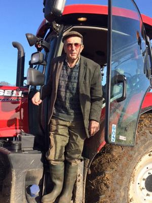 Handout family photo of Kenneth Hugill, an 83-year-old farmer who was cleared of shooting a suspected thief on his land, as his family have welcomed a fund to pay his £30,000 legal costs. David Hugill/PA Wire.