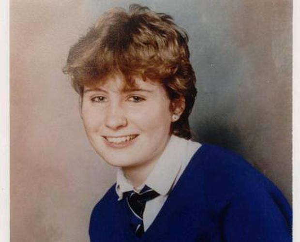 Caroline Graham (19) who was last seen alive in 1989