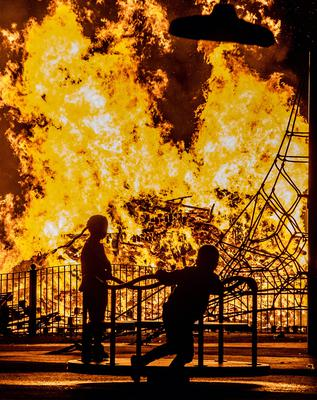 11th night celebrations take place at Pitt Park in east Belfast on July 11th 2020 (Photo by Kevin Scott for Belfast Telegraph)
