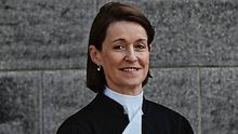 Different role: Ms Justice Mary Irvine is now unavailable after being appointed president of the High Court. Photo: Collins Courts