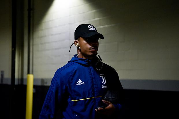Mario Lemina of Juventus arrival before the International Champions Cup 2017 match between AS Roma and Juventus at Gillette Stadium on July 30, 2017 in Foxboro, Massachusetts. (Photo by Daniele Badolato - Juventus FC/Getty Images)