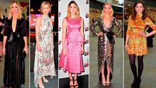 (L to R) Joanne Froggatt, Anne Marie Duff, Laura Carmichael, Anya Taylor-Joy and Aisling Bea at the Empire Film Awards
