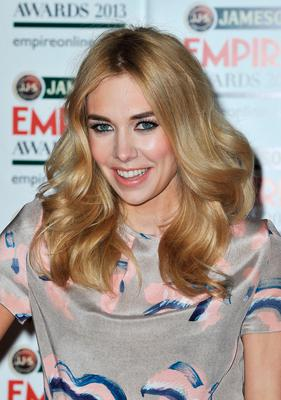 Actress Vanessa Kirby is pictured arriving at the Jameson Empire Awards at Grosvenor House on March 24, 2013 in London, England.  (Photo by Gareth Cattermole/Getty Images for Jameson)