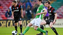 Cork City's Brian Lenihan is set for a move to Brighton after the two clubs agreed a fee. Matt Browne / SPORTSFILE