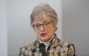Meeting: Children's Minister Katherine Zappone secured the measures. Photo: Gareth Chaney/Collins