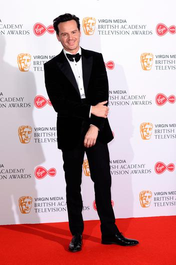 Andrew Scott poses in the Press Room at the Virgin TV BAFTA Television Award at The Royal Festival Hall on May 12, 2019 in London, England. (Photo by Jeff Spicer/Getty Images)