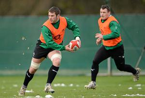 Sean O'Brien and Cian Healy were ruled out of action for the forseeable future
