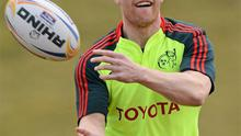 Keith Earls: expected to be named in the Munster starting team