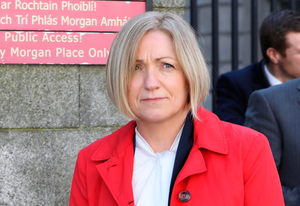 Miriam Kilraine, compliance analyst with ComReg, leaving court. Photo: Collins Courts