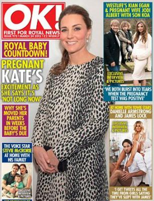 Jodi and Kian appeared in a recent issue of OK! magazine