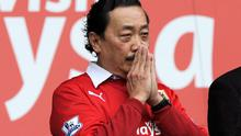 Cardiff City's owner Vincent Tan
