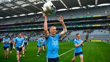 Keep's sake: Paul Mannion of Dublin with the Delaney Cup at a sparse Croke Park after last year's 13-point Leinster final win over Meath – this year would be a great chance to shake up the provincial system. Photo: Ray McManus/Sportsfile