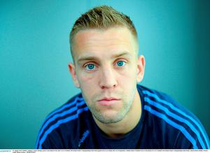 Jonny Cooper during a press event last year