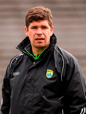 Eamonn Fitzmaurice: 'This is the stuff that keeps them going; thinking about the best team in the country coming to their home patch on a Saturday night. You know beforehand that it is a sold-out fixture' Picture credit: Philip Fitzpatrick / Sportsfile