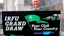 Joe Schmidt promoting the Your Club Your Country Grand Draw