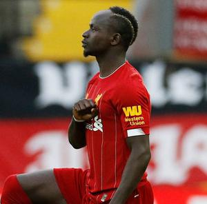 Liverpool's Sadio Mane. Photo: Reuters