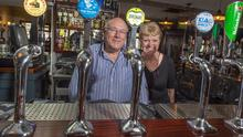 'Singled out': Con Dennehy and Kate Tierney run The Venue bar in Cork. They were 'totally shocked' at the decision not to let pubs reopen on July 20. Photo: Michael Mac Sweeney/Provision