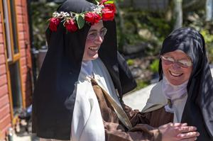 Show of faith: Sister Anne Marie and Mother Superior Irene Gibson
