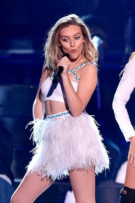 Singer Perrie Edwards of Little Mix performs onstage during the Teen Choice Awards 2015 at the USC Galen Center on August 16, 2015 in Los Angeles, California.  (Photo by Kevin Winter/Getty Images)