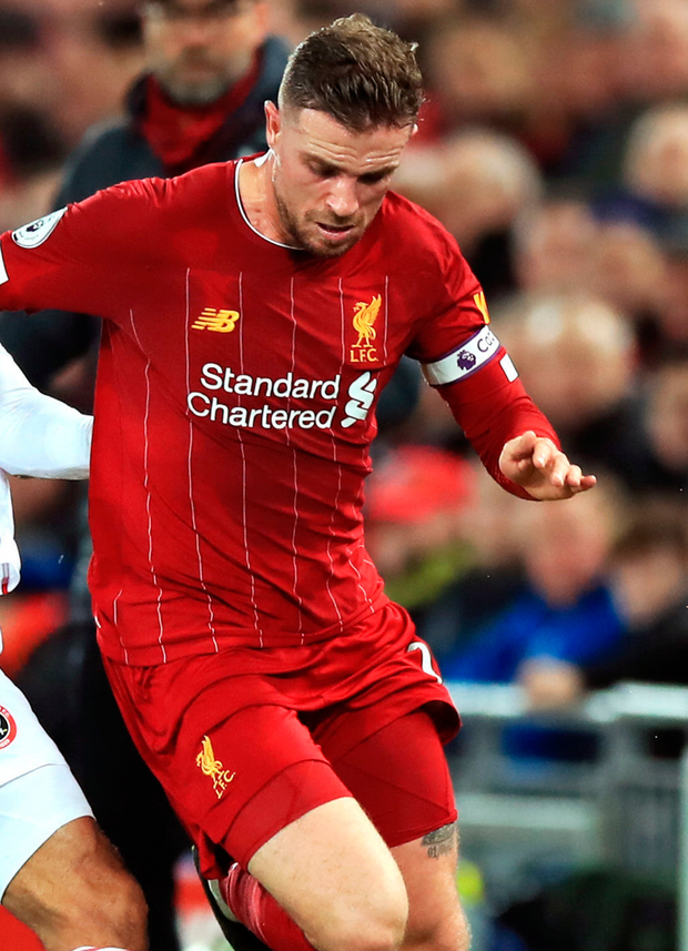 Jordan Henderson makes up for what he lacks in silky skills with his work ethic