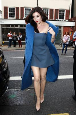 Daisy Lowe sighting at London Fashion Week on September 14, 2014 in London, England. (Photo by Fred Duval/FilmMagic,)