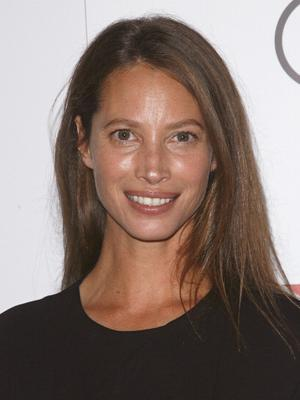 NEW YORK, NY - OCTOBER 07:  Model Christy Turlington Burns attends Every Mother Counts Benefit Hosted By Calvin Klein Underwear And Christy Turlington Burns at Macy's Stella 34 Trattoria on October 7, 2013 in New York City.  (Photo by Jim Spellman/WireImage)