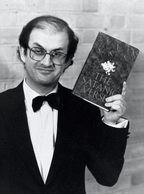 Author Salman Rushdie was the subject of a fatwa because his 1988 book 'The Satanic Verses' was considered blasphemous. Photo: PA